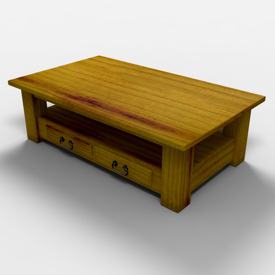 Parana Coffee Table/Mesa de centro Parana royalty-free 3d model - Preview no. 7