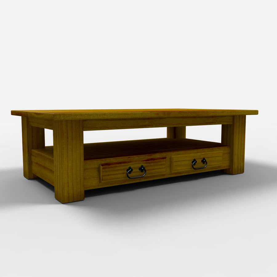 Parana Coffee Table/Mesa de centro Parana royalty-free 3d model - Preview no. 1