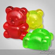 Gumowy niedźwiedź 3d model