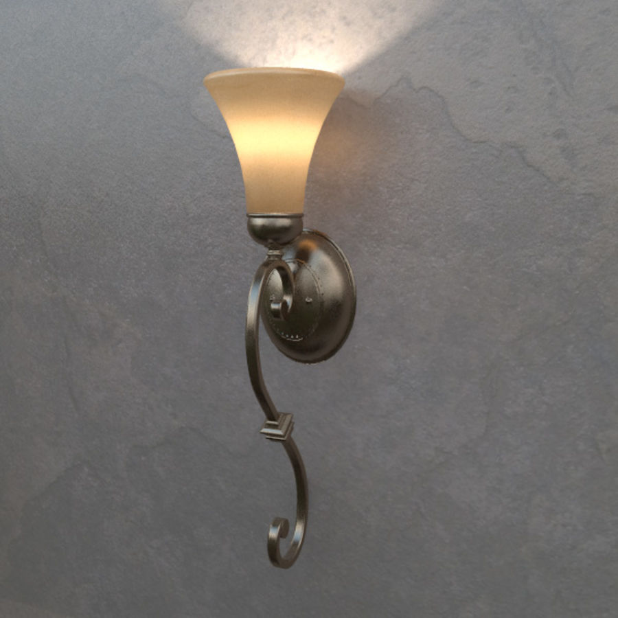Concor 174 Sconce Light royalty-free 3d model - Preview no. 1