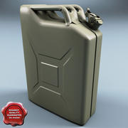 Jerry Can 20 Litre V1 3d model
