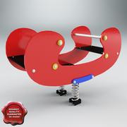 Spring Swing Canoe 3d model