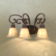 Belcaro 3-Light Sconce 3d model