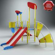 Playground V8 3d model