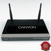 Wifi Router Canyon 3d model