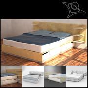 Ikea Mandal Bed 3d model