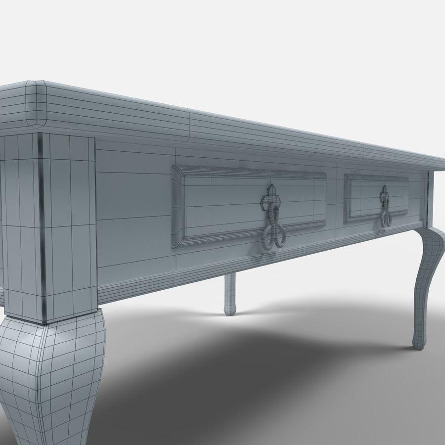 Veracruz Coffee Table/Mesa de centro Veracrúz royalty-free 3d model - Preview no. 4