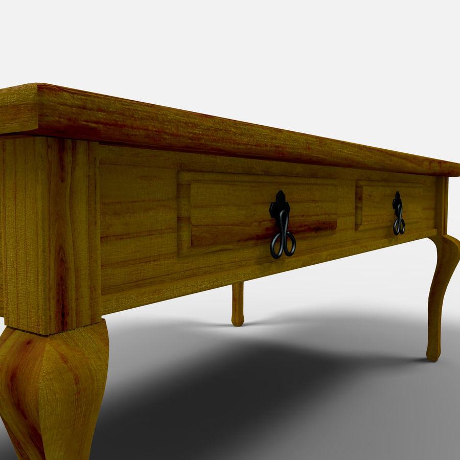 Veracruz Coffee Table/Mesa de centro Veracrúz royalty-free 3d model - Preview no. 3