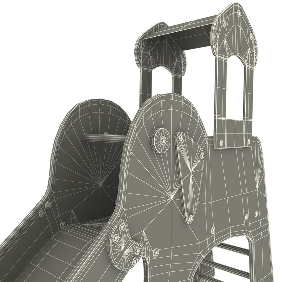 Slide Elephant royalty-free 3d model - Preview no. 11