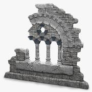 Ruin-element 3d model