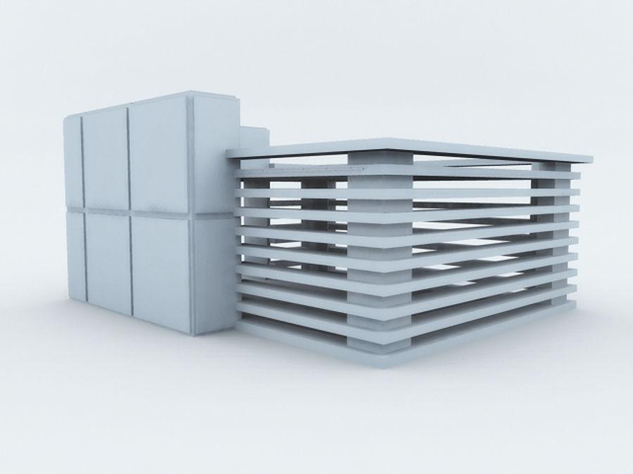 architectura (casinha de cachorro) royalty-free 3d model - Preview no. 4