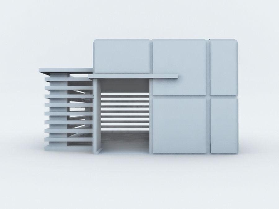 architectura (casinha de cachorro) royalty-free 3d model - Preview no. 2