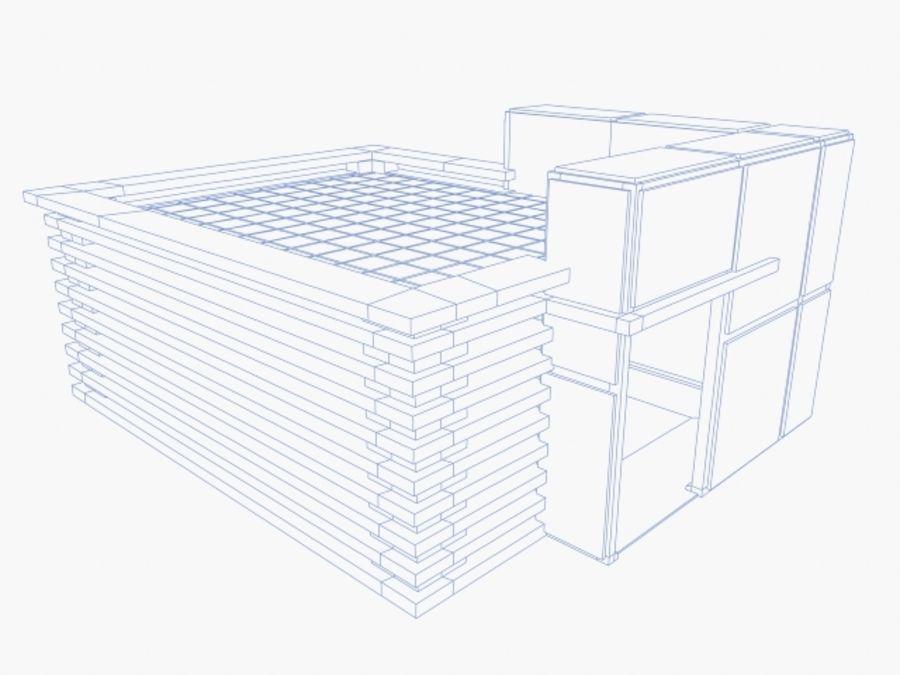 architectura (casinha de cachorro) royalty-free 3d model - Preview no. 5