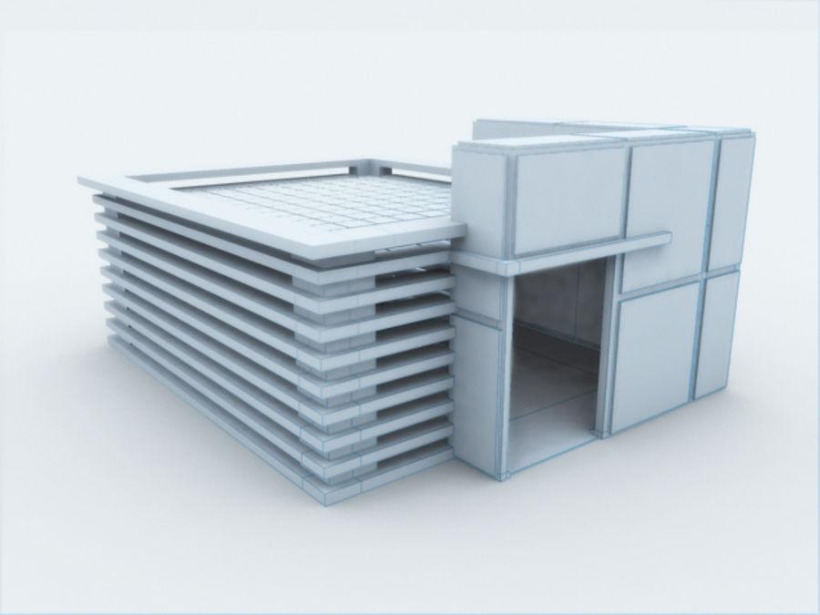 architectura (casinha de cachorro) royalty-free 3d model - Preview no. 1
