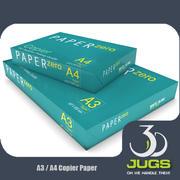 A3 A4 paper 3d model