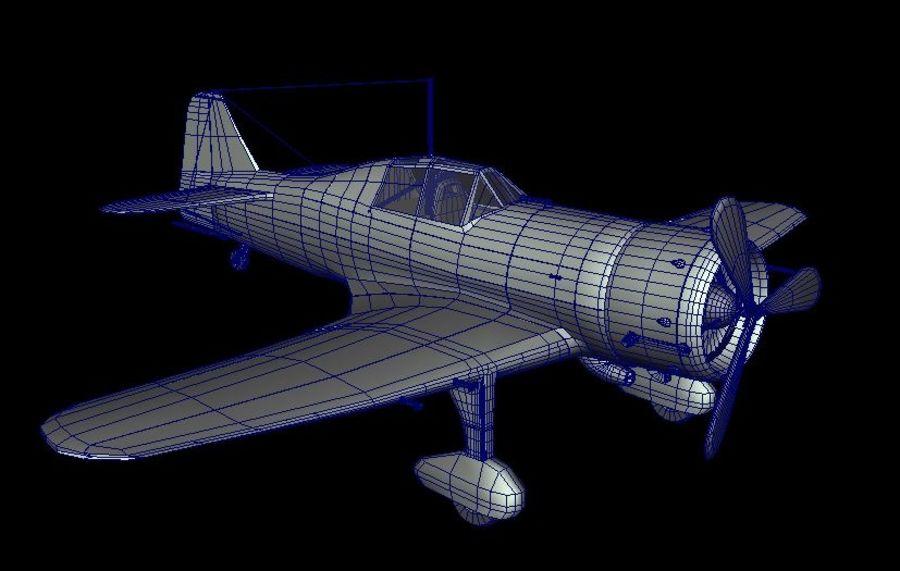 Fokker d xxi 3D Model $15 - .unknown .fbx .ma .obj - Free3D