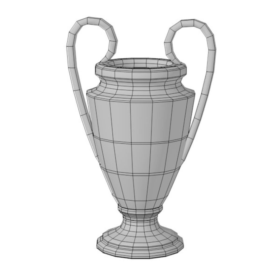 trophy4 royalty-free 3d model - Preview no. 2