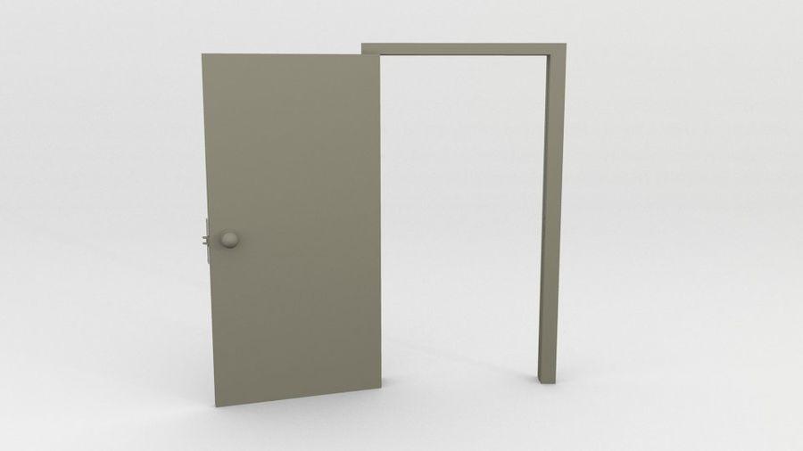シンプルな家具 royalty-free 3d model - Preview no. 4