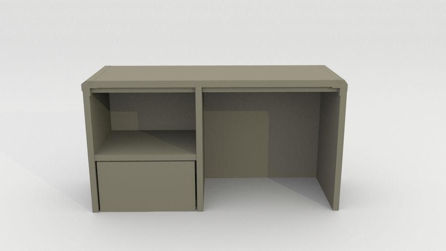シンプルな家具 royalty-free 3d model - Preview no. 3