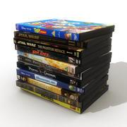 DVD-skivor 4 3d model