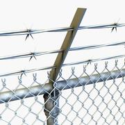 fence high detailed include LOD 3d model