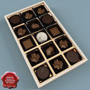 Box of Chocolates 3d model