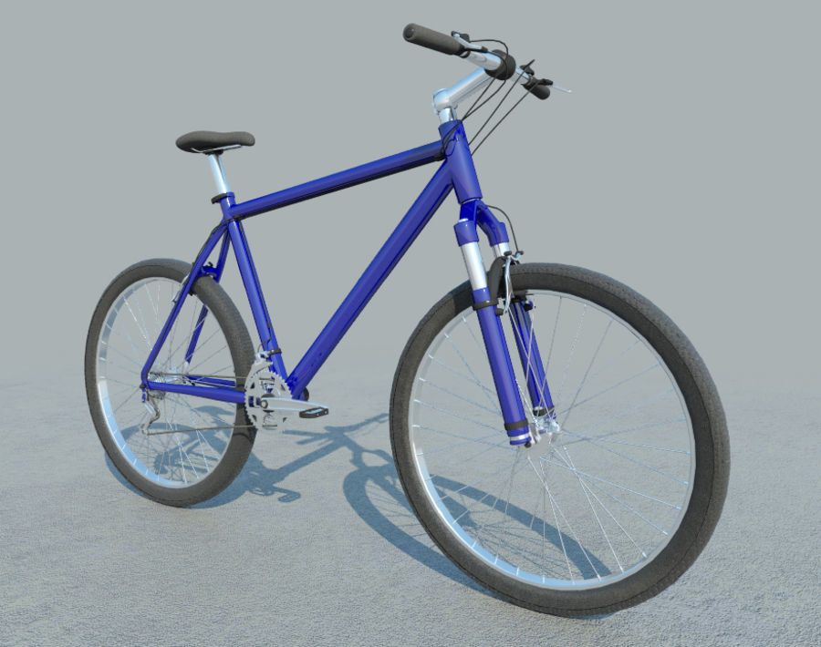 Mountain Bike - IN SALE !!! royalty-free 3d model - Preview no. 2