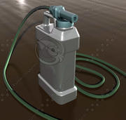 肥料喷雾器 3d model