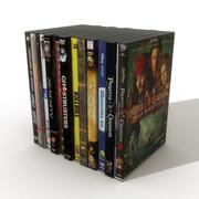 DVD-skivor 2 3d model