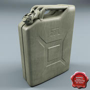 Jerry Can 20 Litre V2 3d model