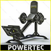 Powertec P-CLS10 compact leg sled 3d model