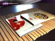 D1.C6.06 Magazines-Revistas 3d model