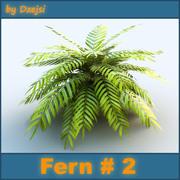 Fern # 2 3d model