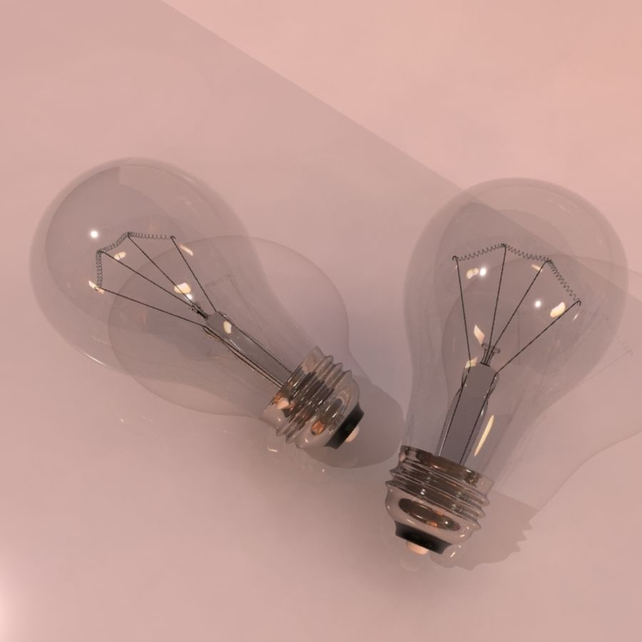 Light Bulb royalty-free 3d model - Preview no. 1