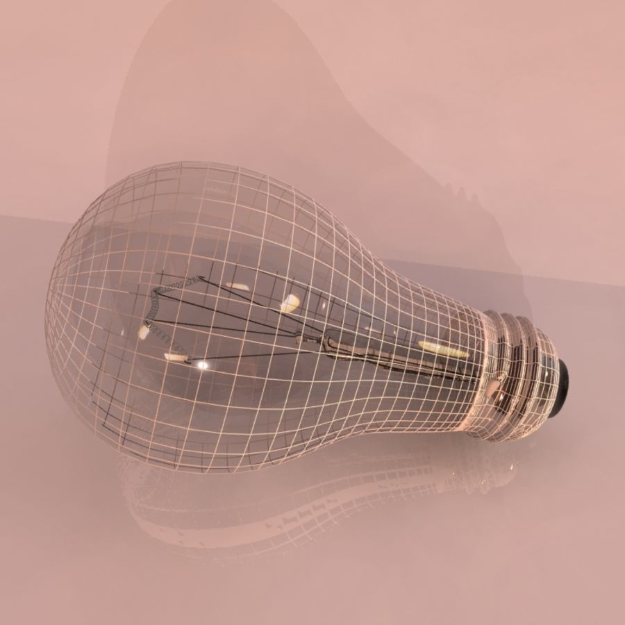 Light Bulb royalty-free 3d model - Preview no. 4