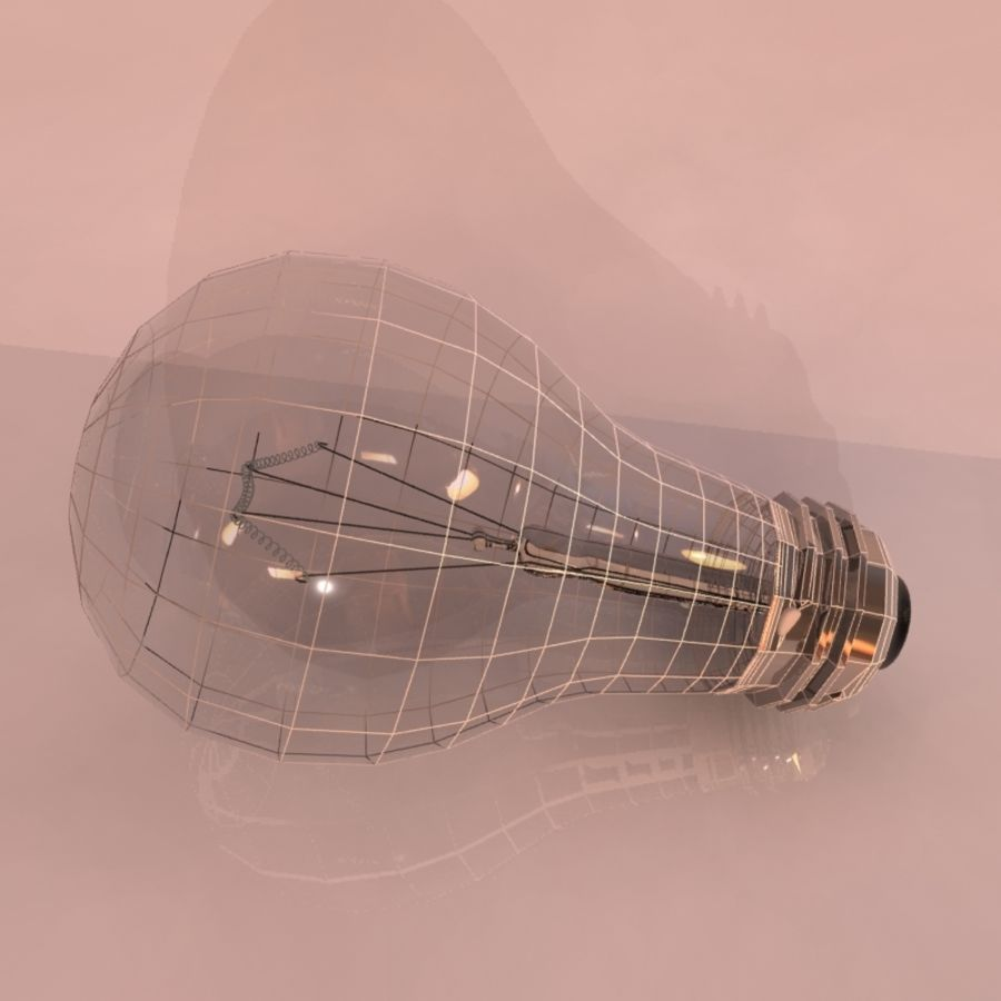 Light Bulb royalty-free 3d model - Preview no. 5