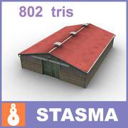Farm shed 3d model