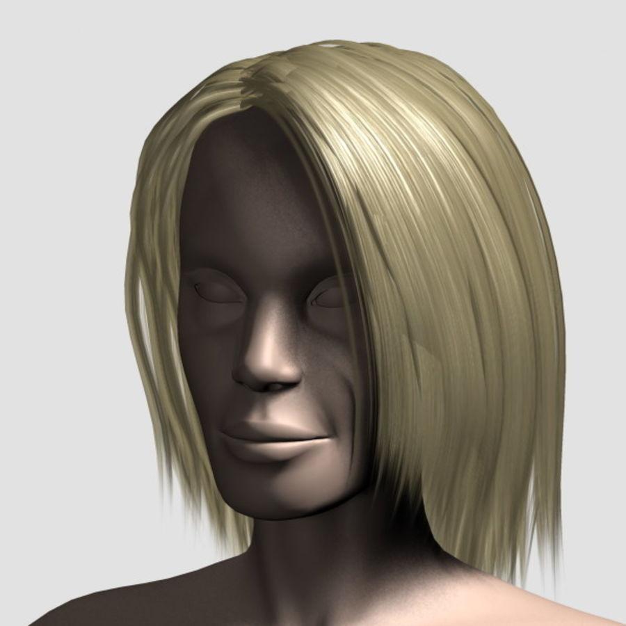 Hair_Mesh_11 royalty-free 3d model - Preview no. 8