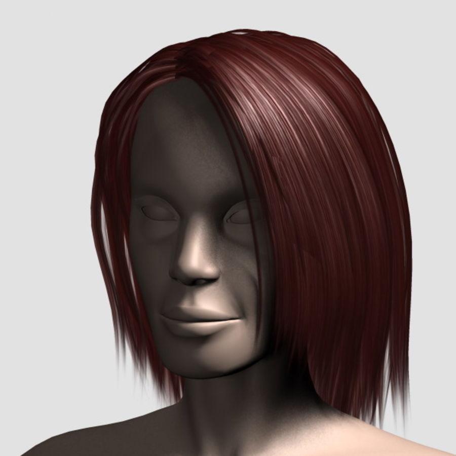 Hair_Mesh_11 royalty-free 3d model - Preview no. 12