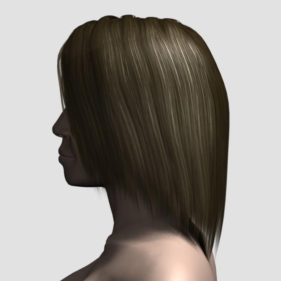 Hair_Mesh_11 royalty-free 3d model - Preview no. 2