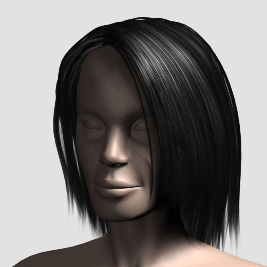 Hair_Mesh_11 royalty-free 3d model - Preview no. 7