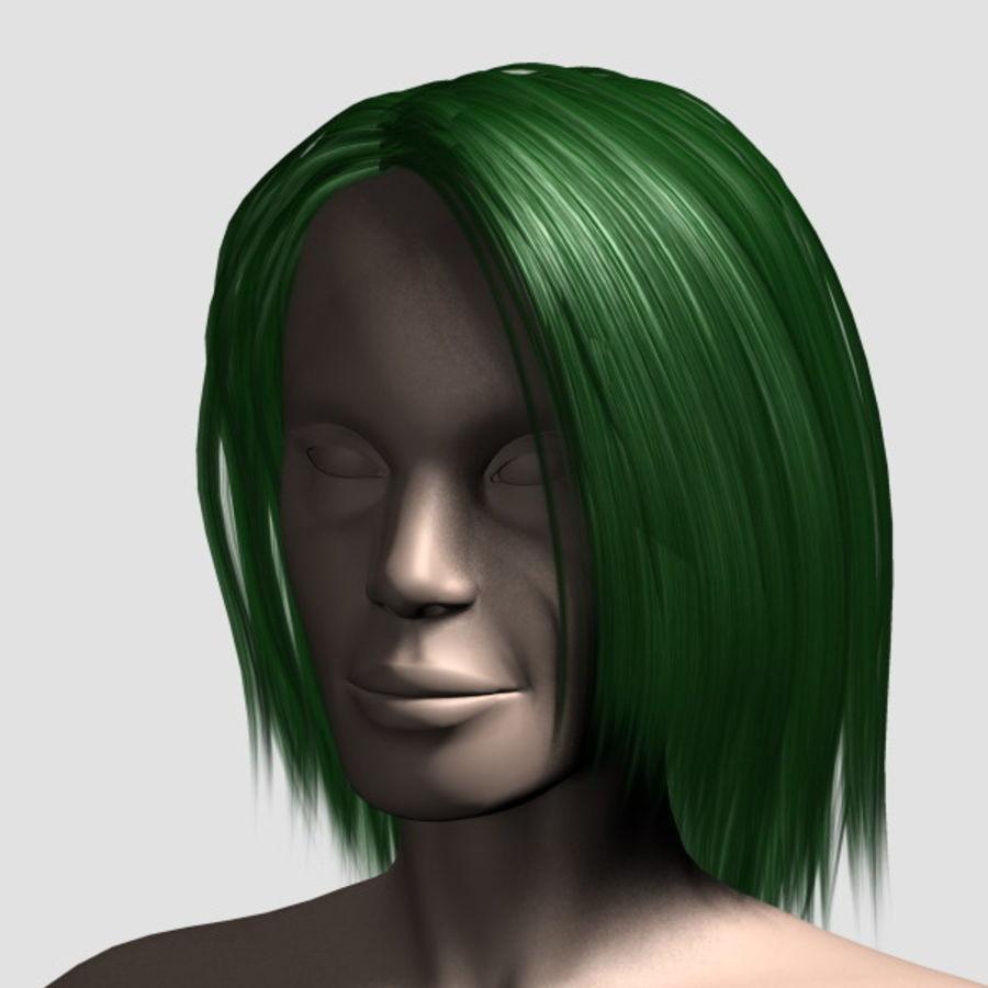 Hair_Mesh_11 royalty-free 3d model - Preview no. 10