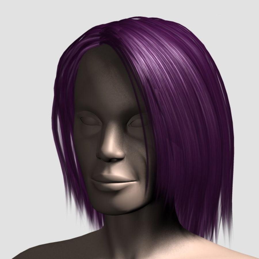 Hair_Mesh_11 royalty-free 3d model - Preview no. 11