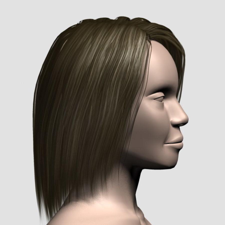 Hair_Mesh_11 royalty-free 3d model - Preview no. 4
