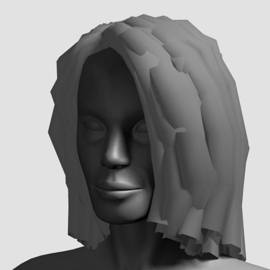 Hair_Mesh_11 royalty-free 3d model - Preview no. 14