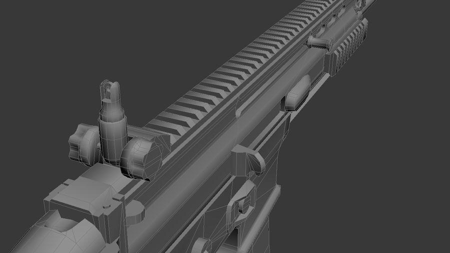 SCAR L DIY kit royalty-free 3d model - Preview no. 6