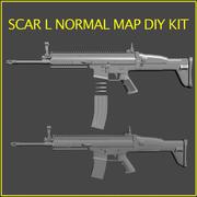 SCAR L DIY kit 3d model