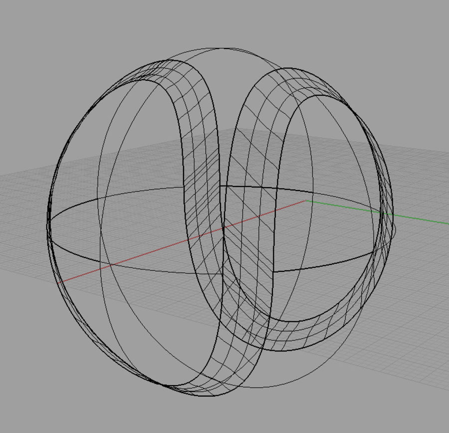 tennis ball royalty-free 3d model - Preview no. 5