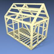 The Cabin Frame 3d model