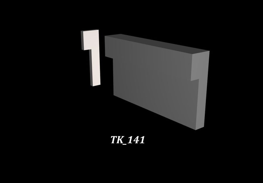 Trim Package 1 royalty-free 3d model - Preview no. 5